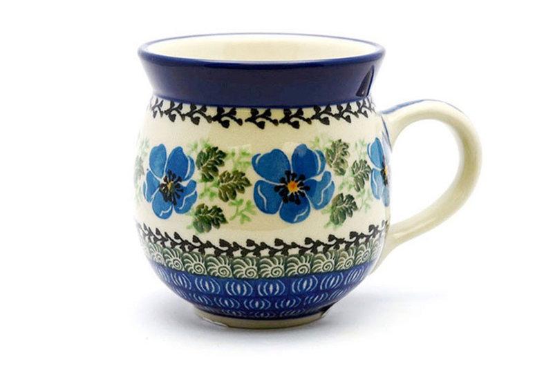 Ceramika Artystyczna Polish Pottery Mug - 11 oz. Bubble - Morning Glory 070-1915a (Ceramika Artystyczna)
