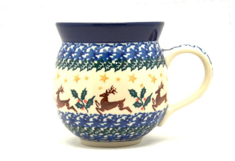 Ceramika Artystyczna Polish Pottery Mug - 11 oz. Bubble - Prancer 070-1485a (Ceramika Artystyczna)