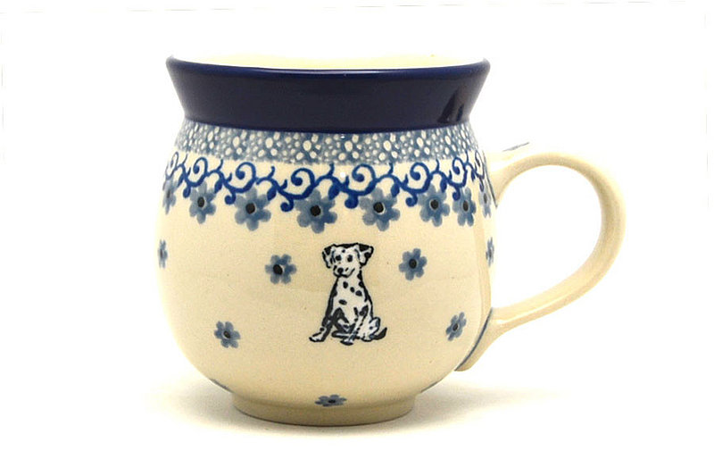 Ceramika Artystyczna Polish Pottery Mug - 11 oz. Bubble - Sparky 070-2602a (Ceramika Artystyczna)