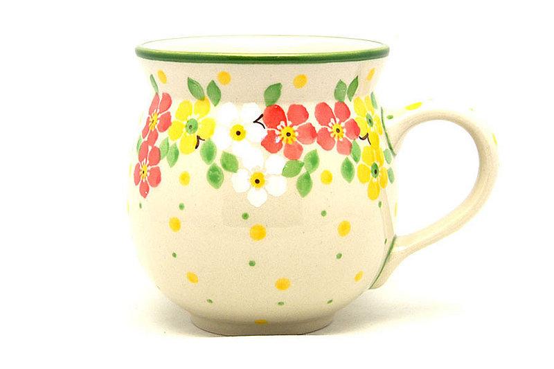 Ceramika Artystyczna Polish Pottery Mug - 11 oz. Bubble - Spring Blossom 070-2518q (Ceramika Artystyczna)