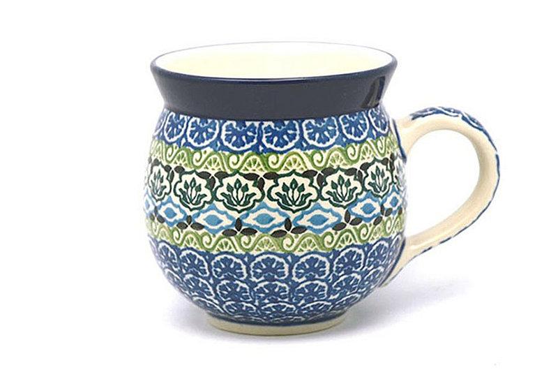 Ceramika Artystyczna Polish Pottery Mug - 11 oz. Bubble - Tranquility 070-1858a (Ceramika Artystyczna)