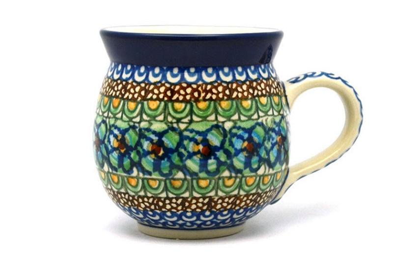 Ceramika Artystyczna Polish Pottery Mug - 11 oz. Bubble - Unikat Signature U151 070-U0151 (Ceramika Artystyczna)