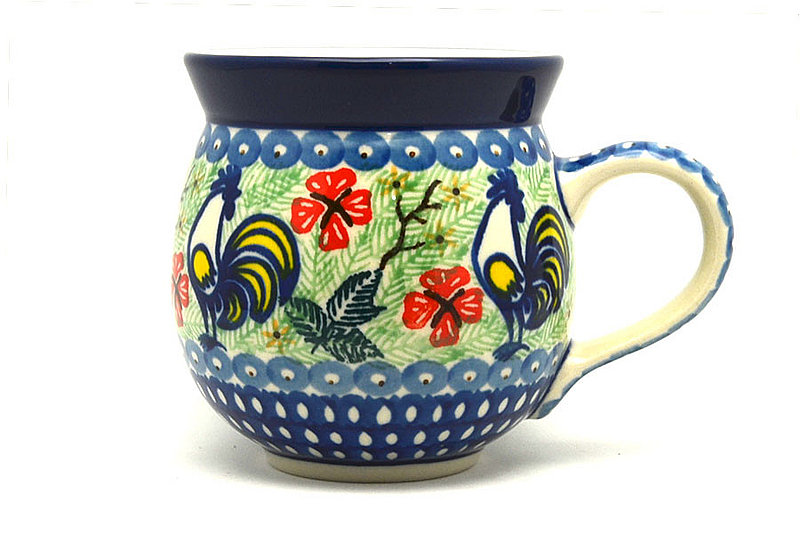 Ceramika Artystyczna Polish Pottery Mug - 11 oz. Bubble - Unikat Signature U2708 070-U2708 (Ceramika Artystyczna)