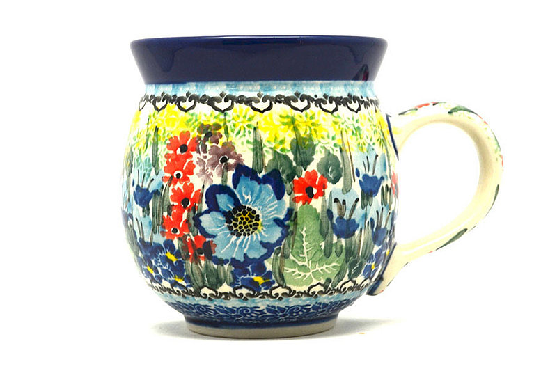 Ceramika Artystyczna Polish Pottery Mug - 11 oz. Bubble - Unikat Signature U4558 070-U4558 (Ceramika Artystyczna)