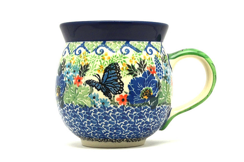 Ceramika Artystyczna Polish Pottery Mug - 11 oz. Bubble - Unikat Signature U4600 070-U4600 (Ceramika Artystyczna)