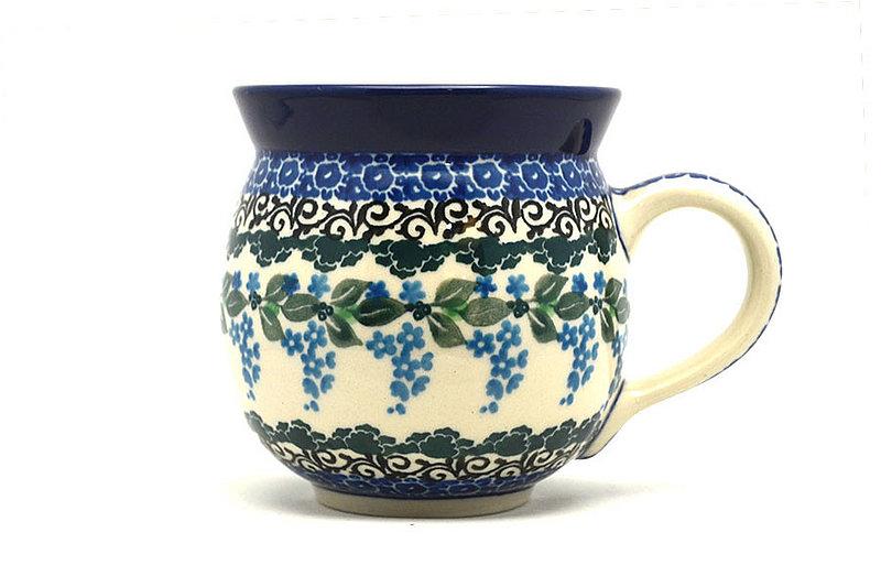 Polish Pottery Mug - 11 oz. Bubble - Wisteria