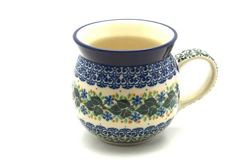 Ceramika Artystyczna Polish Pottery Mug - 15 oz. Bubble - Ivy Trail 073-1898a (Ceramika Artystyczna)