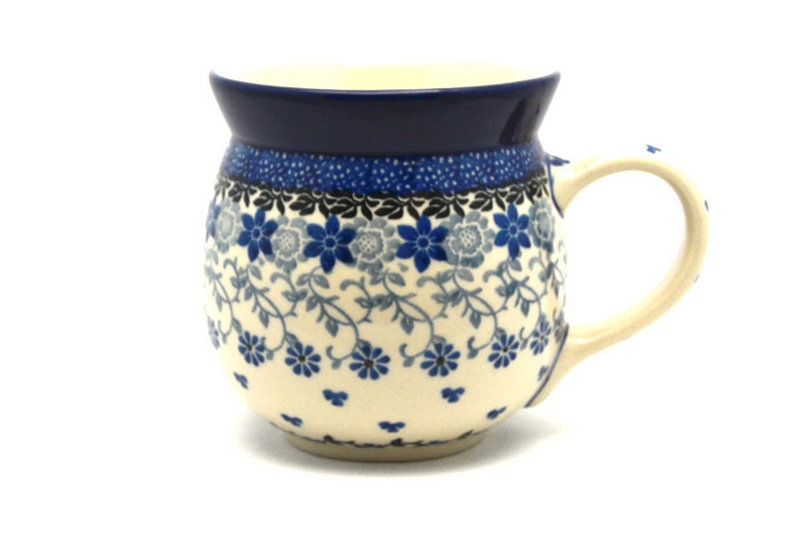 Ceramika Artystyczna Polish Pottery Mug - 15 oz. Bubble - Silver Lace 073-2158a (Ceramika Artystyczna)