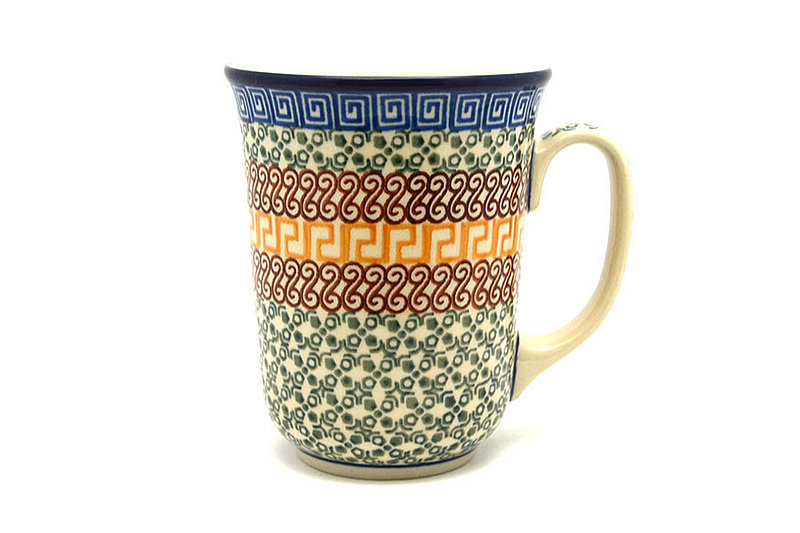 Ceramika Artystyczna Polish Pottery Mug - 16 oz. Bistro - Autumn 812-050a (Ceramika Artystyczna)