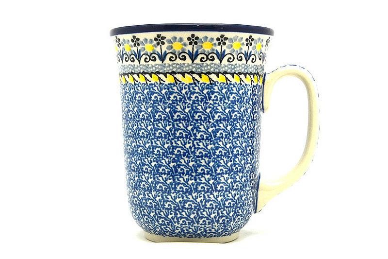 Ceramika Artystyczna Polish Pottery Mug - 16 oz. Bistro - Daisy Maize 812-2178a (Ceramika Artystyczna)