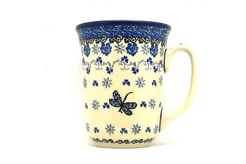 Polish Pottery Mug - 16 oz. Bistro - Dragonfly