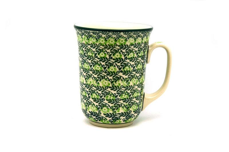 Ceramika Artystyczna Polish Pottery Mug - 16 oz. Bistro - Irish Meadow 812-1888q (Ceramika Artystyczna)
