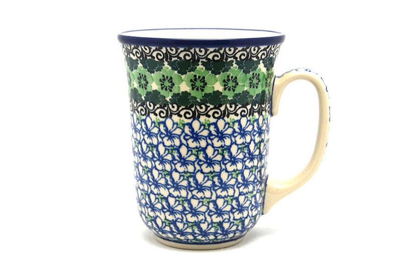 Ceramika Artystyczna Polish Pottery Mug - 16 oz. Bistro - Kiwi 812-1479a (Ceramika Artystyczna)