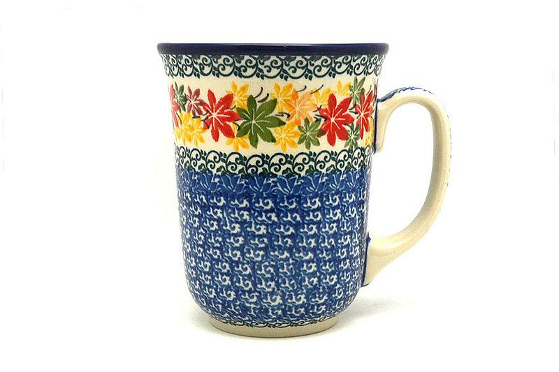 Ceramika Artystyczna Polish Pottery Mug - 16 oz. Bistro - Maple Harvest 812-2533a (Ceramika Artystyczna)