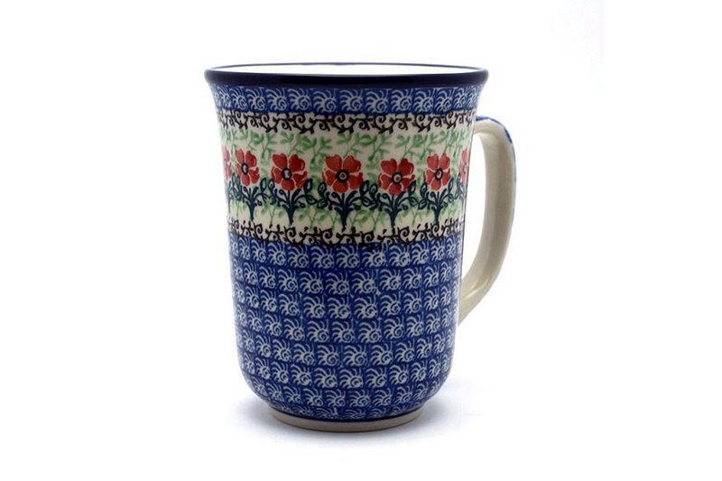 Ceramika Artystyczna Polish Pottery Mug - 16 oz. Bistro - Maraschino 812-1916a (Ceramika Artystyczna)