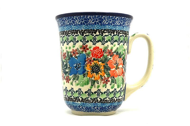 Ceramika Artystyczna Polish Pottery Mug - 16 oz. Bistro - Unikat Signature U3347 812-U3347 (Ceramika Artystyczna)