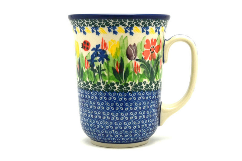 Ceramika Artystyczna Polish Pottery Mug - 16 oz. Bistro - Unikat Signature U3787 812-U3787 (Ceramika Artystyczna)