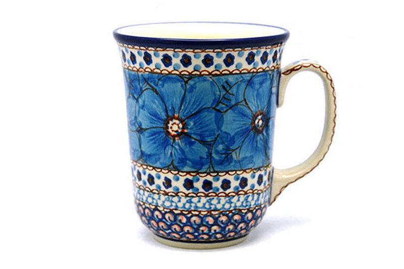 Ceramika Artystyczna Polish Pottery Mug - 16 oz. Bistro - Unikat Signature U408C 812-U408C (Ceramika Artystyczna)