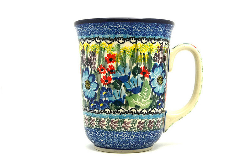 Ceramika Artystyczna Polish Pottery Mug - 16 oz. Bistro - Unikat Signature U4558 812-U4558 (Ceramika Artystyczna)