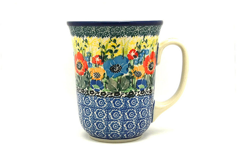Ceramika Artystyczna Polish Pottery Mug - 16 oz. Bistro - Unikat Signature U4578 812-U4578 (Ceramika Artystyczna)