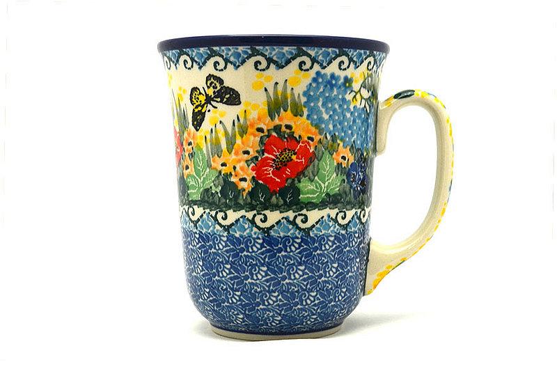 Ceramika Artystyczna Polish Pottery Mug - 16 oz. Bistro - Unikat Signature U4592 812-U4592 (Ceramika Artystyczna)