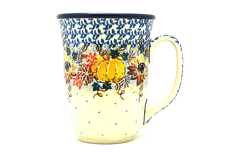 Ceramika Artystyczna Polish Pottery Mug - 16 oz. Bistro - Unikat Signature U4741 812-U4741 (Ceramika Artystyczna)