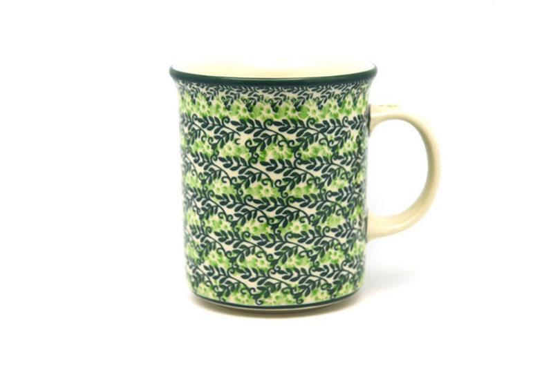 Ceramika Artystyczna Polish Pottery Mug - Big Straight Sided - Irish Meadow B13-1888q (Ceramika Artystyczna)