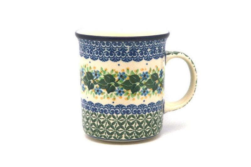 Ceramika Artystyczna Polish Pottery Mug - Big Straight Sided - Ivy Trail B13-1898a (Ceramika Artystyczna)