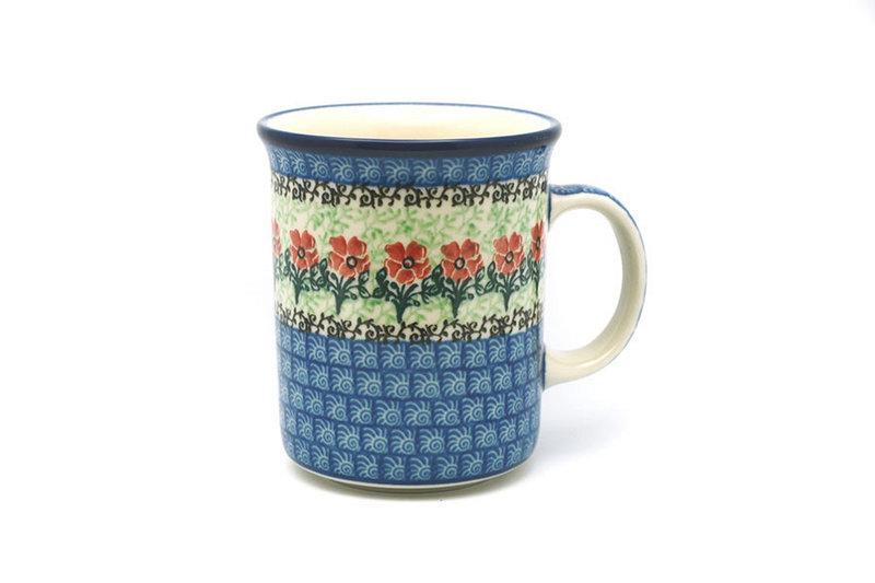 Ceramika Artystyczna Polish Pottery Mug - Big Straight Sided - Maraschino B13-1916a (Ceramika Artystyczna)