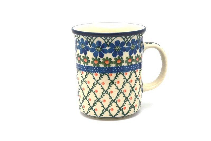 Ceramika Artystyczna Polish Pottery Mug - Big Straight Sided - Primrose B13-854a (Ceramika Artystyczna)