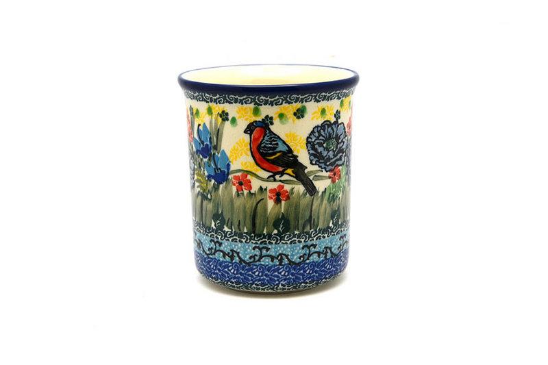Ceramika Artystyczna Polish Pottery Mug - Big Straight Sided - Unikat Signature - U4512 B13-U4512 (Ceramika Artystyczna)