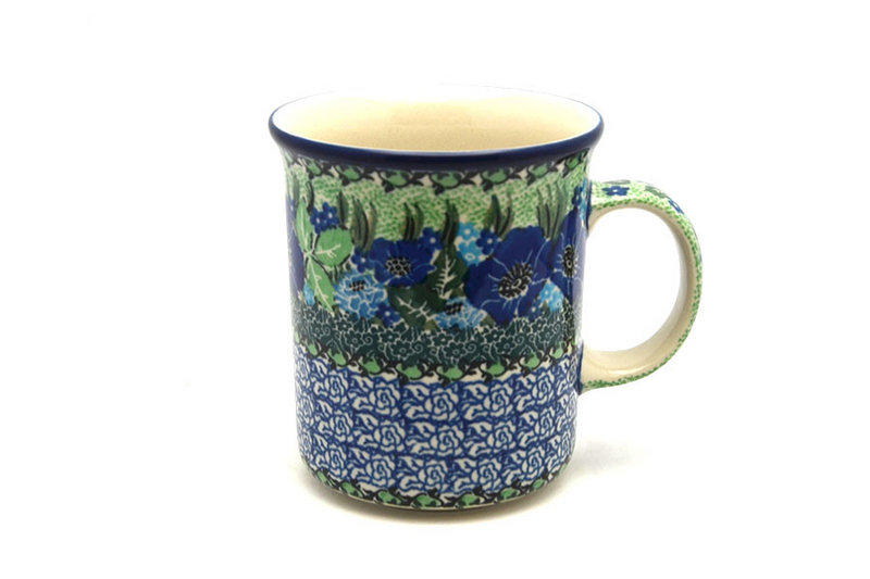 Ceramika Artystyczna Polish Pottery Mug - Big Straight Sided - Unikat Signature - U4629 B13-U4629 (Ceramika Artystyczna)