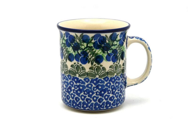 Ceramika Artystyczna Polish Pottery Mug - Straight Sided - Huckleberry 236-1413a (Ceramika Artystyczna)