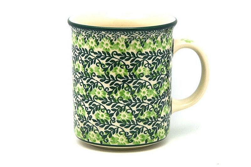 Ceramika Artystyczna Polish Pottery Mug - Straight Sided - Irish Meadow 236-1888q (Ceramika Artystyczna)