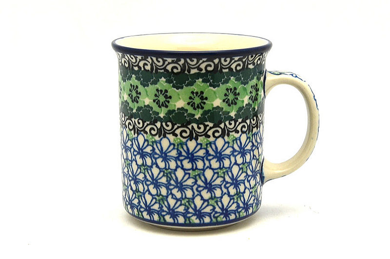 Ceramika Artystyczna Polish Pottery Mug - Straight Sided - Kiwi 236-1479a (Ceramika Artystyczna)