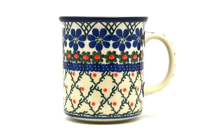 Ceramika Artystyczna Polish Pottery Mug - Straight Sided - Primrose 236-854a (Ceramika Artystyczna)