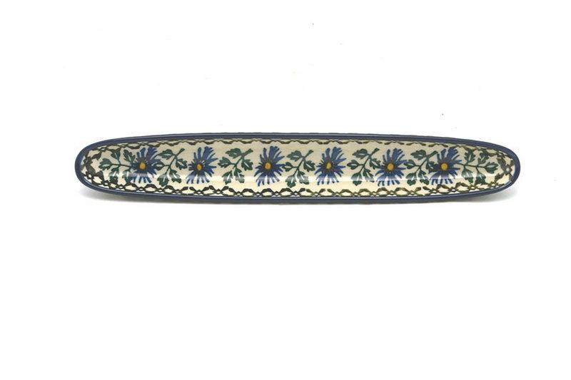Ceramika Artystyczna Polish Pottery Olive Boat - Blue Chicory 923-976a (Ceramika Artystyczna)