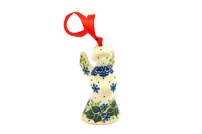Ceramika Artystyczna Polish Pottery Ornament - Angel - Ivy Trail C67-1898a (Ceramika Artystyczna)