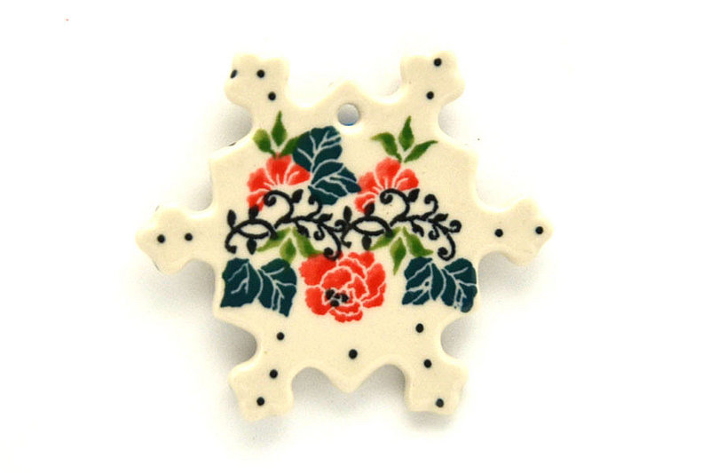 Ceramika Artystyczna Polish Pottery Ornament - Christmas Pageant A88-1970a (Ceramika Artystyczna)