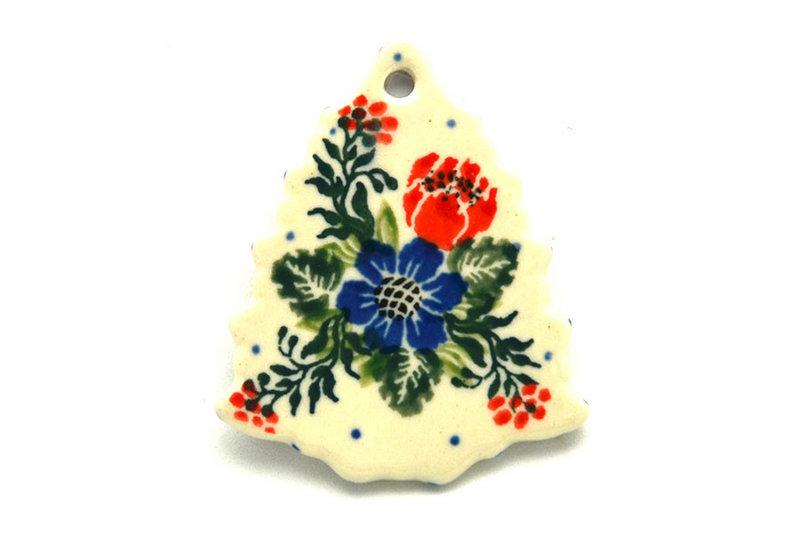 Ceramika Artystyczna Polish Pottery Ornament - Christmas Tree - Garden Party A87-1535a (Ceramika Artystyczna)