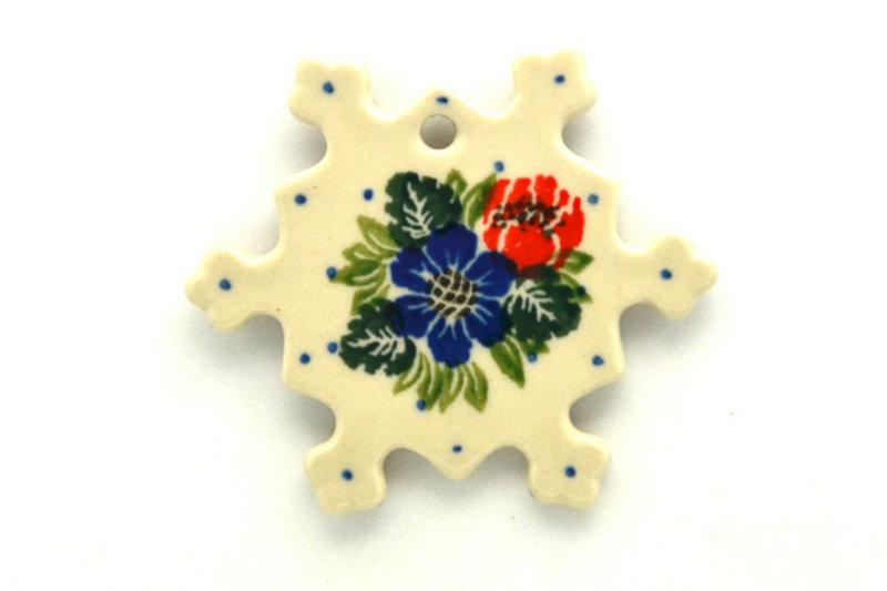 Ceramika Artystyczna Polish Pottery Ornament - Garden Party A88-1535a (Ceramika Artystyczna)