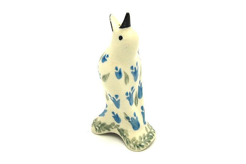 Ceramika Artystyczna Polish Pottery Pie Bird - Blue Bells C14-1432a (Ceramika Artystyczna)