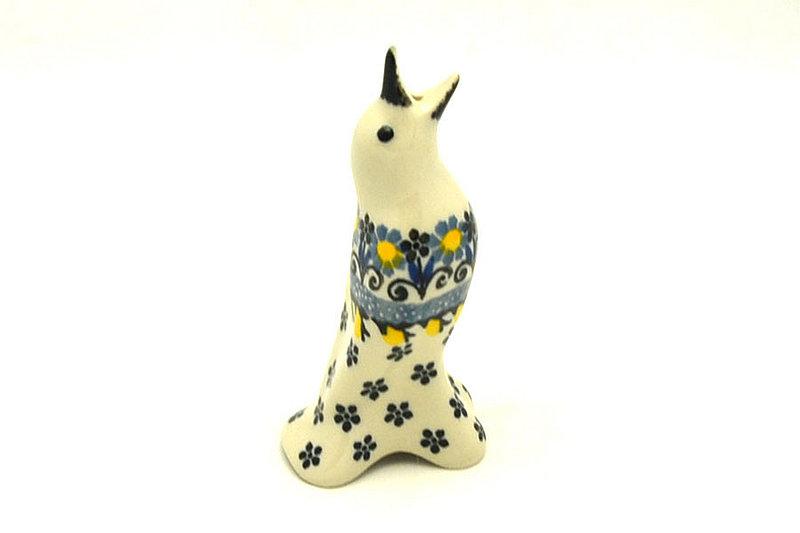 Ceramika Artystyczna Polish Pottery Pie Bird - Daisy Maize C14-2178a (Ceramika Artystyczna)