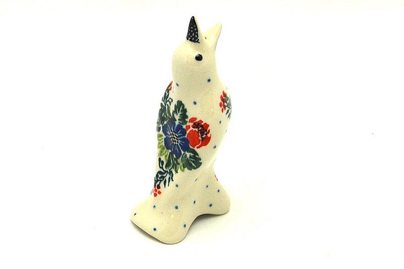 Ceramika Artystyczna Polish Pottery Pie Bird - Garden Party C14-1535a (Ceramika Artystyczna)