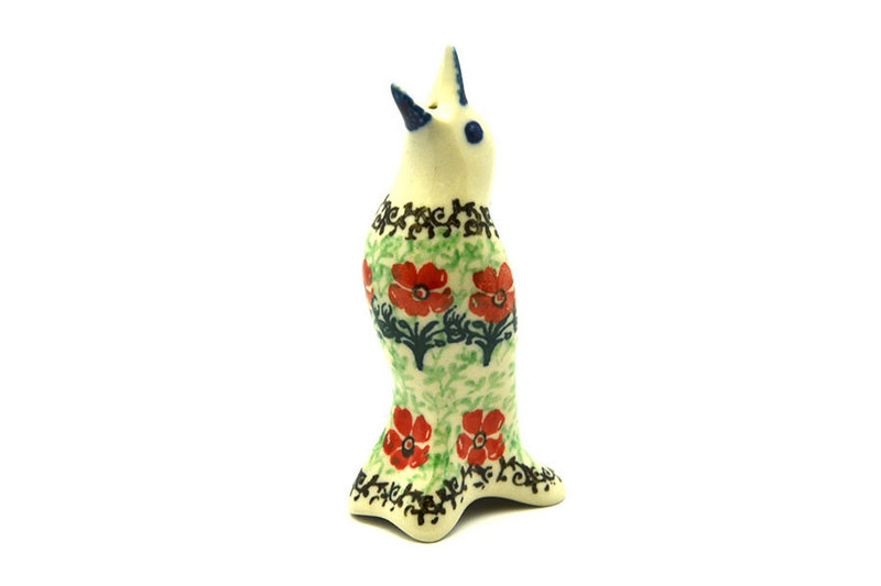 Polish Pottery Pie Bird - Maraschino