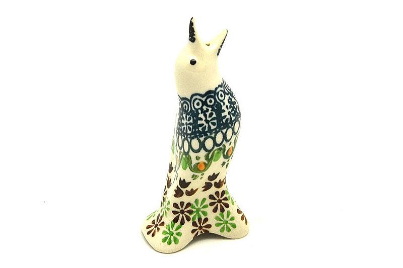 Ceramika Artystyczna Polish Pottery Pie Bird - Mint Chip C14-2195q (Ceramika Artystyczna)