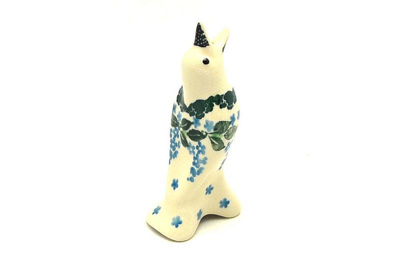 Ceramika Artystyczna Polish Pottery Pie Bird - Wisteria C14-1473a (Ceramika Artystyczna)