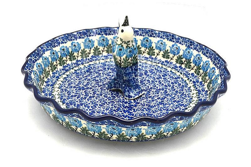 Ceramika Artystyczna Polish Pottery Pie Set - Antique Rose S63-1390a (Ceramika Artystyczna)