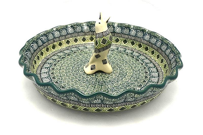 Ceramika Artystyczna Polish Pottery Pie Set - Aztec Forest S63-1919q (Ceramika Artystyczna)