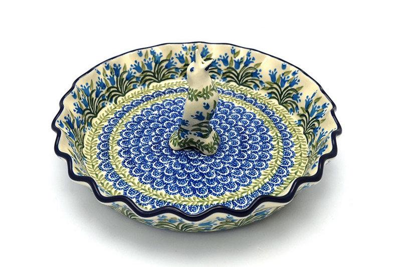 Ceramika Artystyczna Polish Pottery Pie Set - Blue Bells S63-1432a (Ceramika Artystyczna)